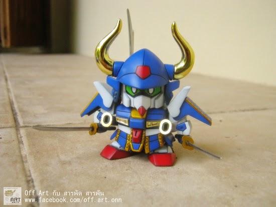 SD Musha Gundam MKII มุฉะมารค์ทูวตัวน้อยๆ >W< โดย Off-Songwut