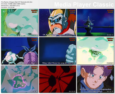 Download Film / Anime Dragon Ball GT Episode 22 Bahasa Indonesia