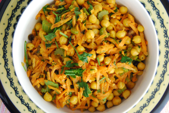 Carrot and Chickpea Salad 'Moroccan Style'