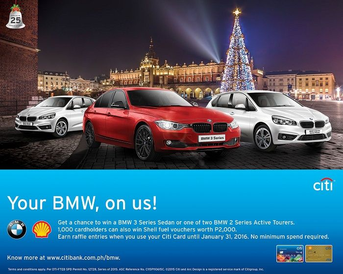 Your BMW, on us!