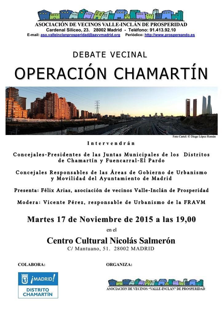 Debate sobre la Operación Chamartín