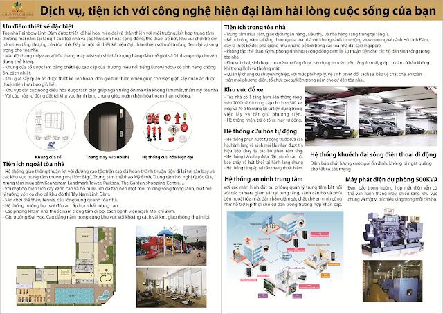 Phân phối độc quyền chung cư Rainbow Linh Đàm - CĐT BIC Việt Nam