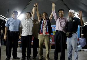 Ketua Cawangan Umno Bandar Baru Sentul, Badaruddin Ismail sertai KEADILAN pada program ceramah Pakatan Rakyat