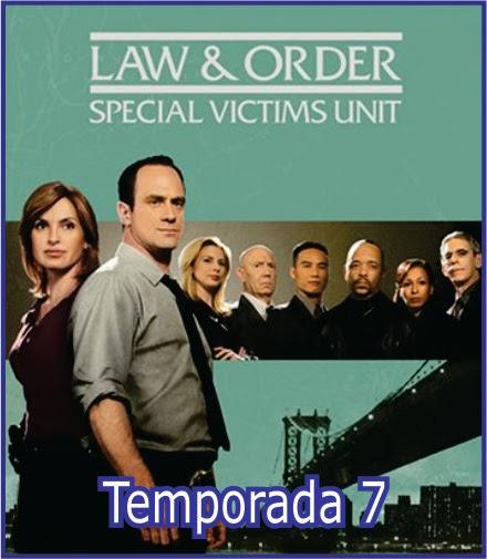 La Ley y el Orden: UVE - Temporada 7 - Latino e ingles