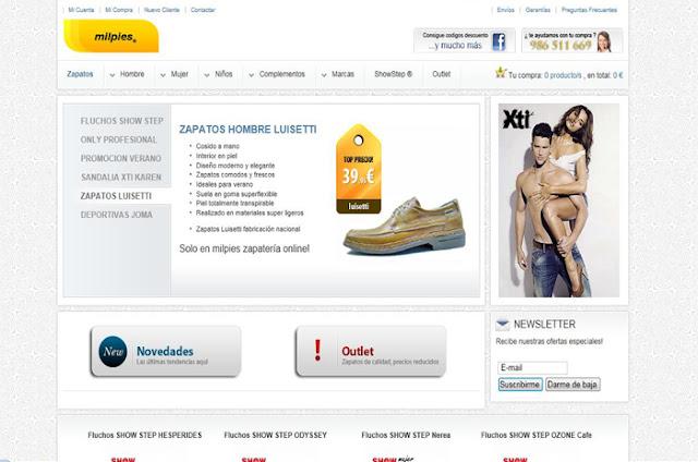 Zapatos Online Milpies