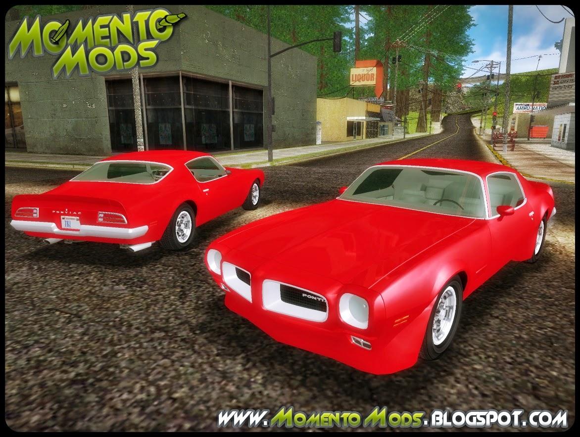 GTA SA - Pontiac Firebird 1970