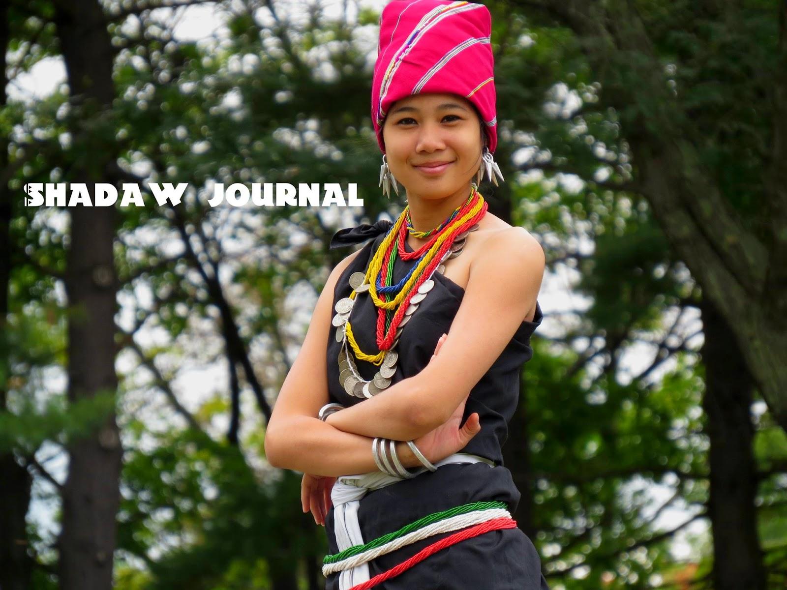 Karenni Fashion -  karenni girl fashion Christina MT Meh (www.shadaw.net)