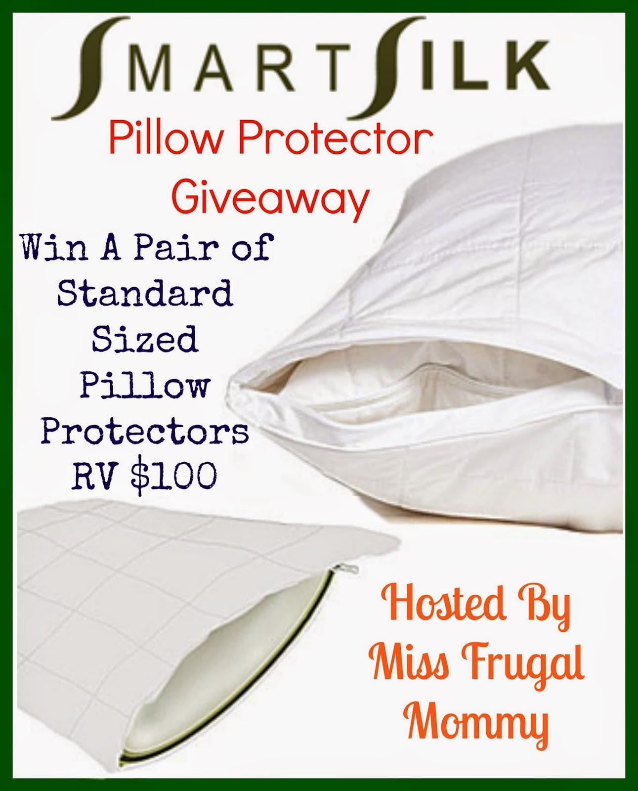 SmartSilk Pillow Protector Giveaway