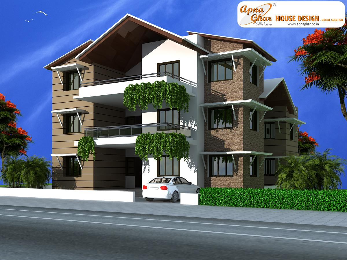 Triplex House Design, Triplex House Design