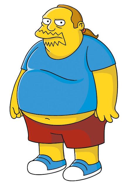 Uomo dei fumetti Simpson