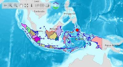 lokasi gempa sulut