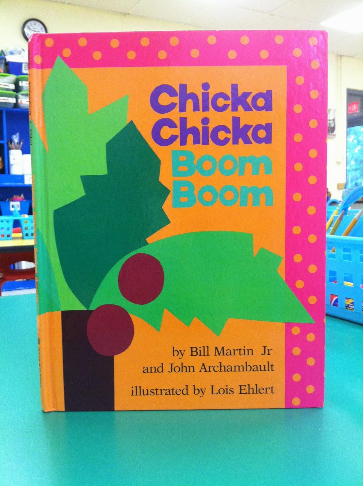 Ms. Berbert's Bright Bunch: Chicka Chicka Boom Boom, We ... - photo#33