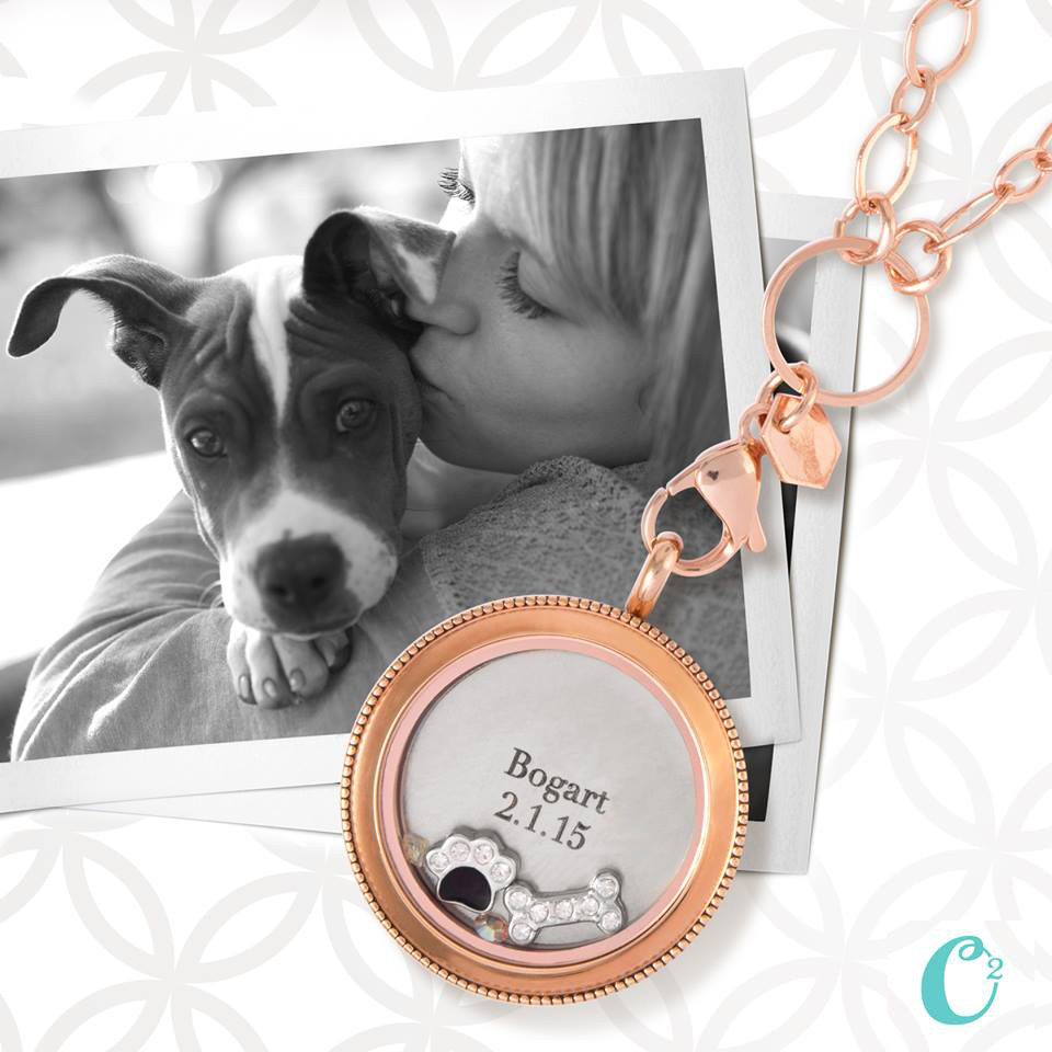 Puppy Love - Inscriptions by Origami Owl available at StoriedCharms.com
