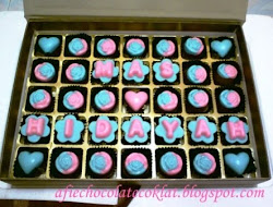 SET CHOC 35 CAVITY & TEXT @RM65