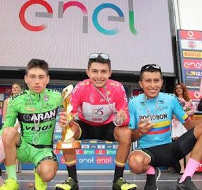 Camilo Ardila ciclista tolimense ganó el Giro Sub 23
