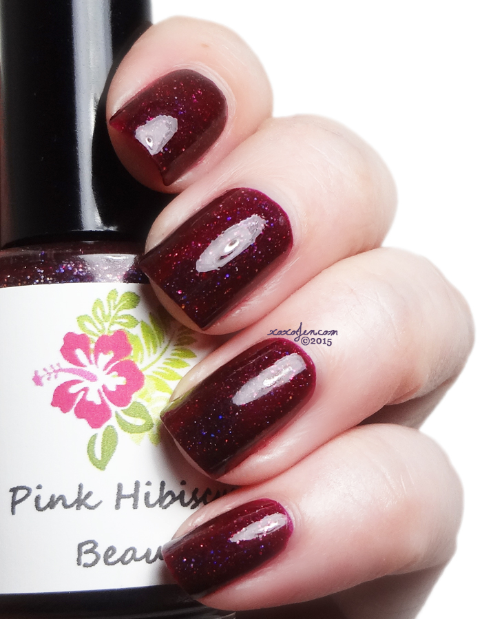 xoxoJen's swatch of Pink Hibiscus The Connecticut Vineyards