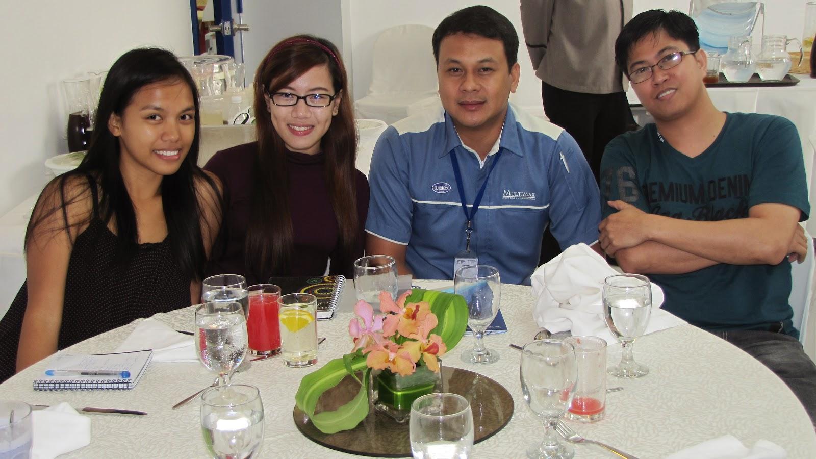 Uratex Cebu, Janvic Canama, Gessa Condino, Cebu Bloggers, FTW! Blog