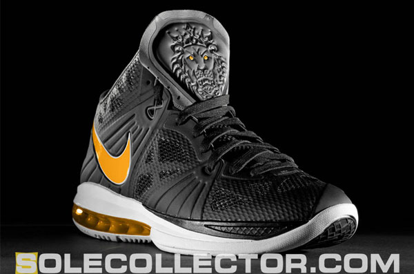 lebron 8 ps black. 2011 makeup Nike LeBron 8 P.S.