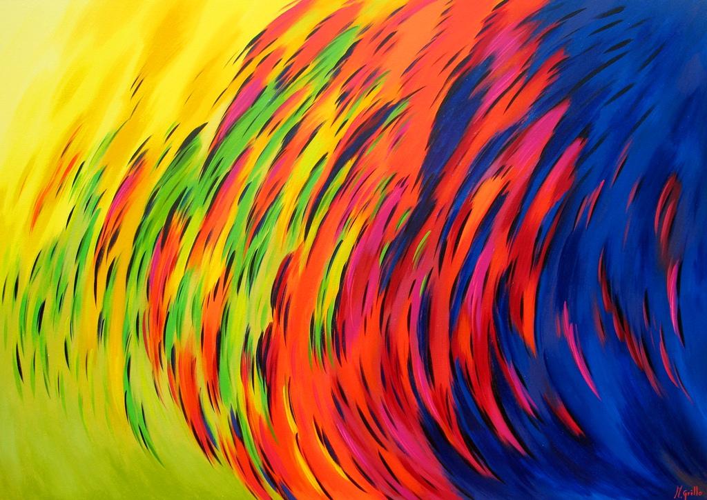 Cuadros modernos lienzos modernos - Cuadros de colores ...