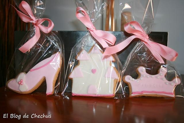 Galletas para princesas, El BLog de Chechus, Chechus Cupcakes