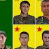 5 YPG'linin kimliği açıklandı