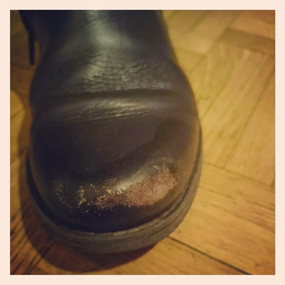 Teretenena zapatos pelados como nuevos for Como reparar parquet desgastado