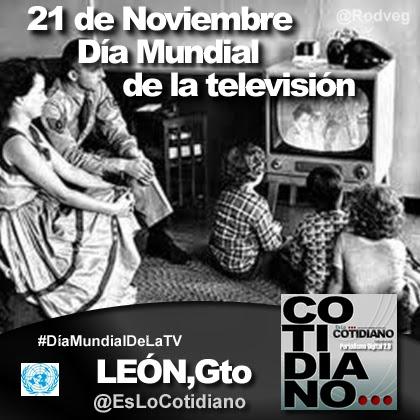21 de Noviembre - Día Mundial de la Televisión