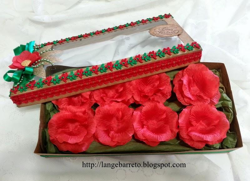 Embalagem natalina para chocolates