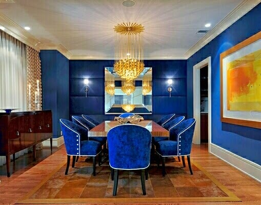 Dining rooms decor ideas in classic and modern combination - Modern dining room wall decor ...