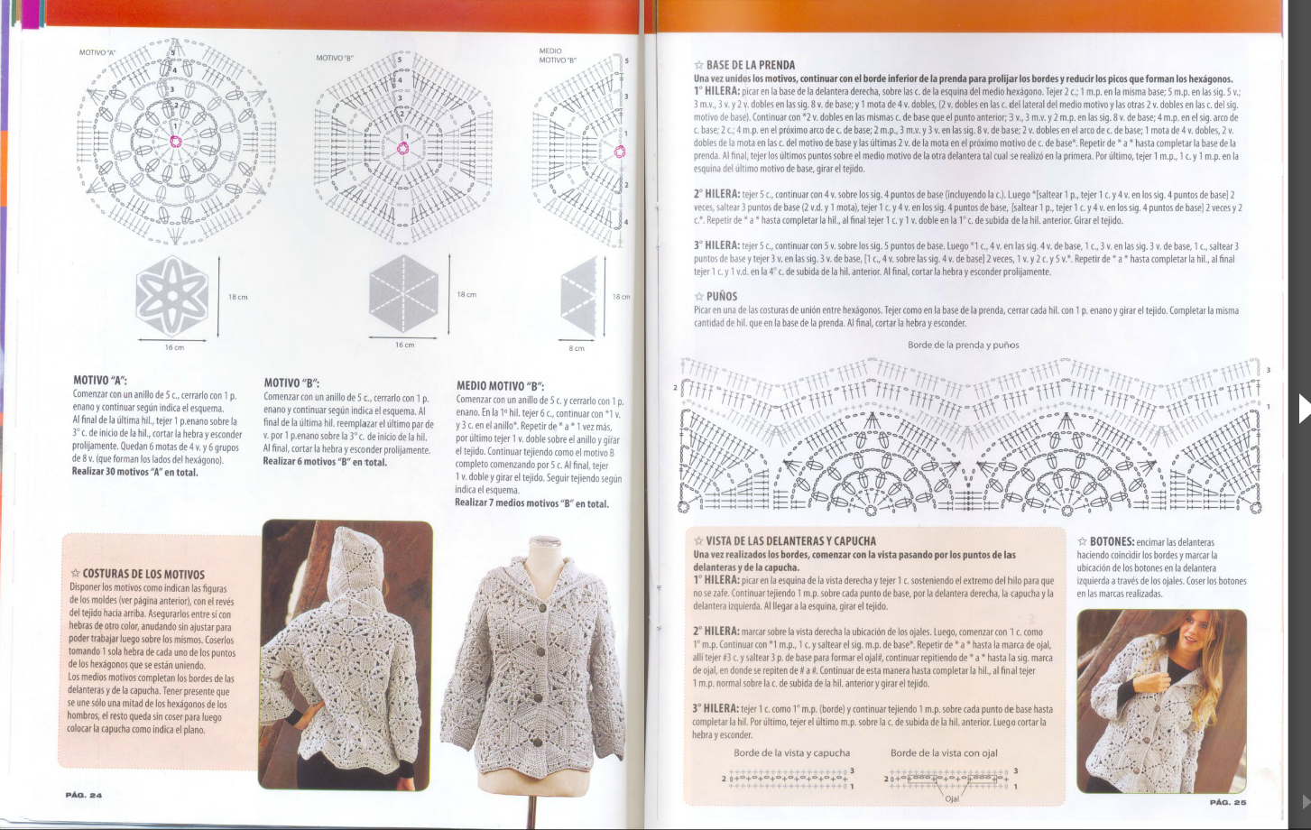 Crochet Stitches Online : Crochetpedia: Crochet Books Online - Crochet Jacket Patterns
