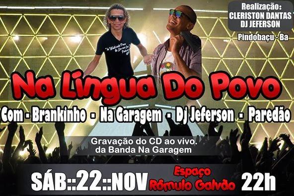 Banda na Garagem Grava CD ao Vivo dia 22/11/2014