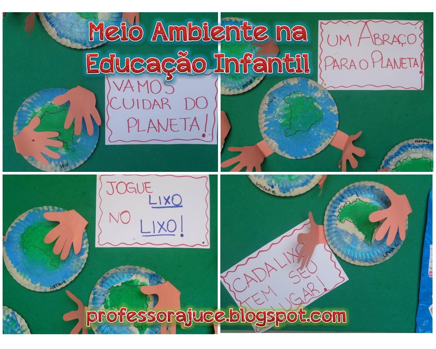 Super Professora Juce: Meio ambiente na educação Infantil XG15