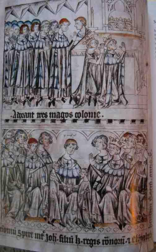 Casamento de João do Luxemburgo com Elisabeth des Přemyslides [1310]