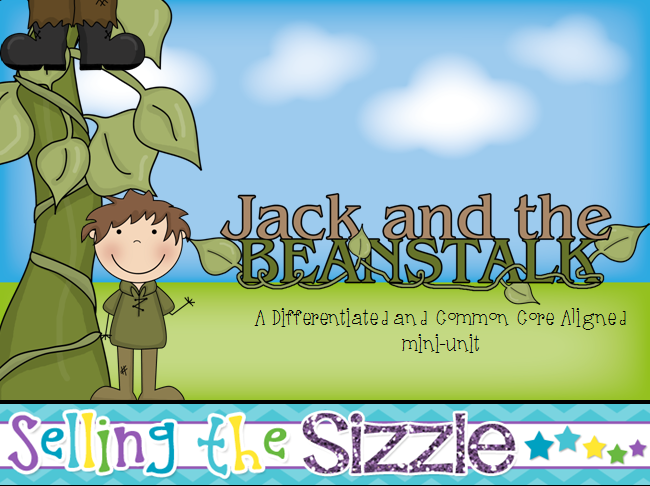 http://www.teacherspayteachers.com/Product/Jack-and-the-Beanstalk-a-Differentiated-and-Common-Core-Aligned-Fairy-Tale-Unit-1153184