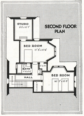 second floor bedrooms sears hillsboro 1932