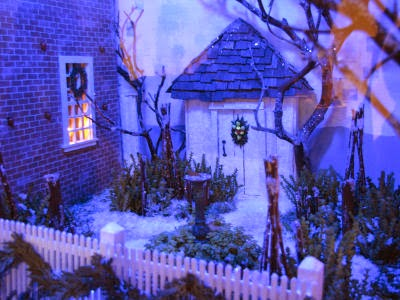 miniature winter lawn