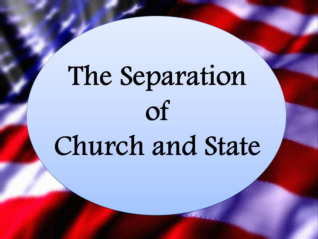 seperation of church and state The problem is that if religion is part of all aspects of a state, every member of the  state is affected by it, which if you are not part of the dominant religion, can be.