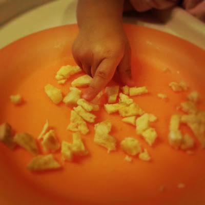 Trocitos tortilla