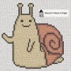 adventure time hello snail cross stitch chart
