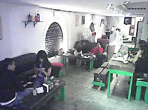 Café El conejo y el lobo