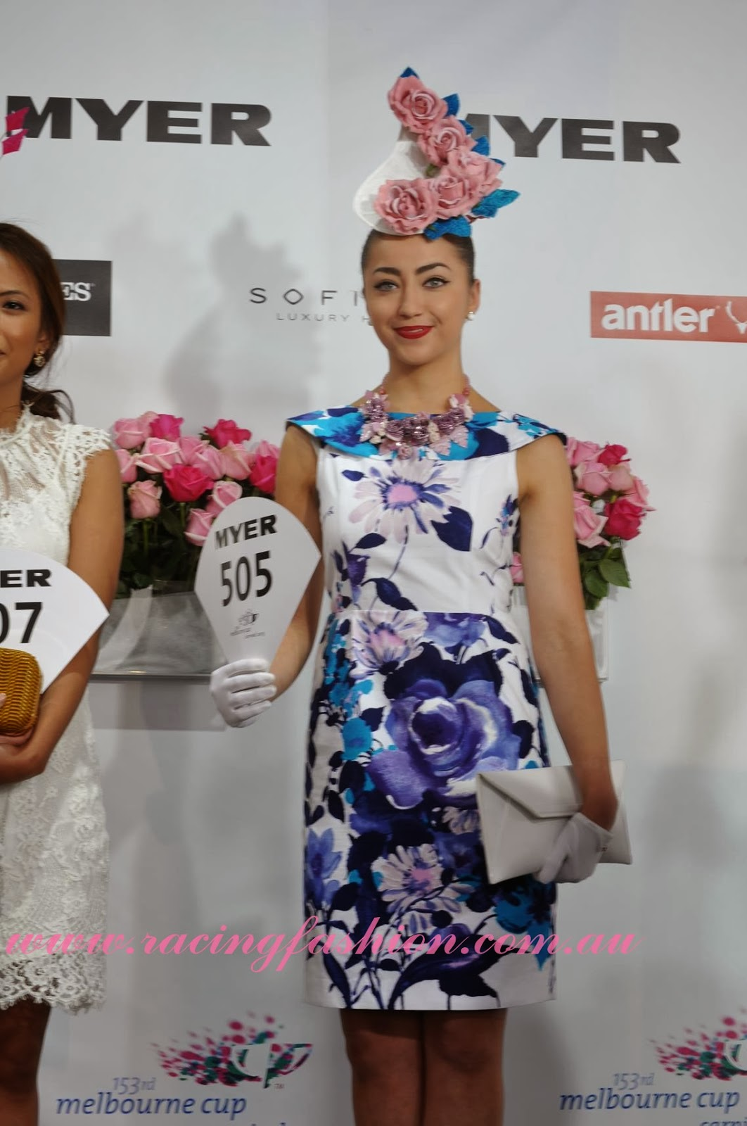 ELLE s Best Dressed From The 2017 Kennedy Oaks Day ELLE 100