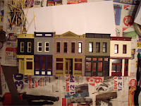 Painting Merchant&#8217;s Row 1 almost complete
