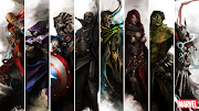 . who posted amazing illustrations of the Avengers as Fantasy heroes. (the avengers by thedurrrrian trk )
