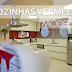 15 Cozinhas vermelhas modernas - veja modelos maravilhosos mais dicas!