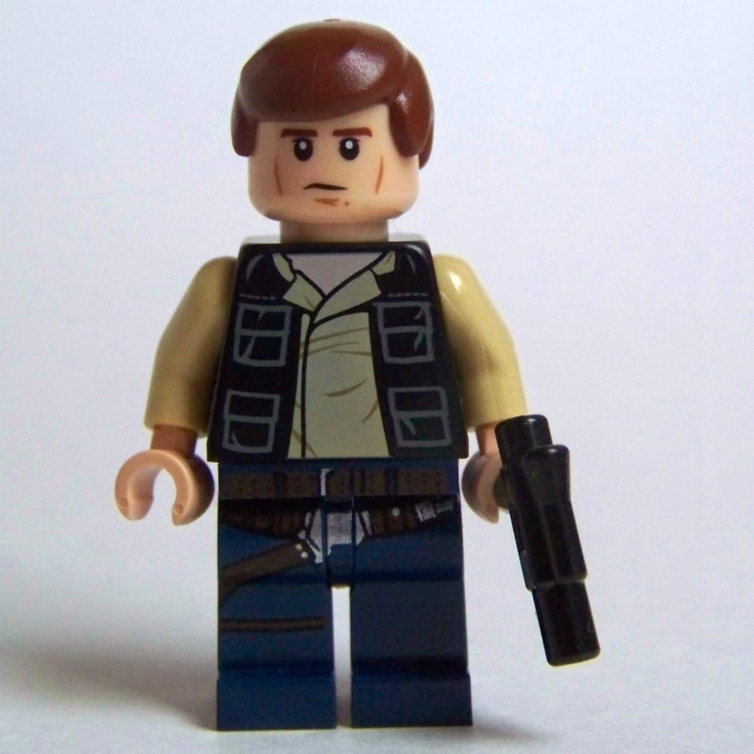 LEGO Han Solo minifigure 2014