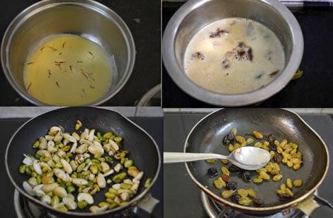 preparations for sheer khurma
