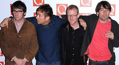 blurqawards2012, q awards blur, blur 2012 q awards, blur best live act 2012