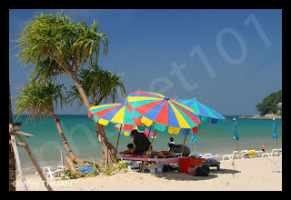 Beach massage at Kamala Beach