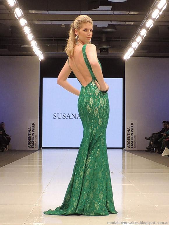 Susana Ortiz primavera verano 2015. Vestidos de fiesta primavera verano 2015.
