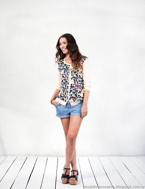 Ver primavera verano 2014 shorts. Moda verano 2014.
